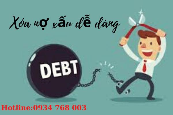 xóa nợ xấu